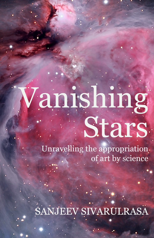 Vanishing Stars, Cover, Print Edition
