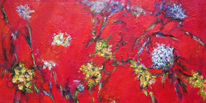 Barbara-Gamble_Wildflowers-in-Red-2