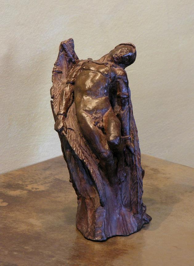 Artist Russell Baron sculptures at Sivarulrasa Gallery in Almonte, Ontario
