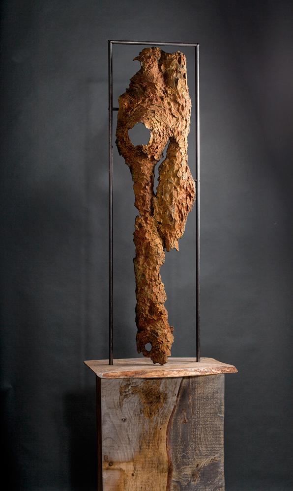 Artist Deborah Arnold sculptures at Sivarulrasa Gallery in Almonte, Ontario