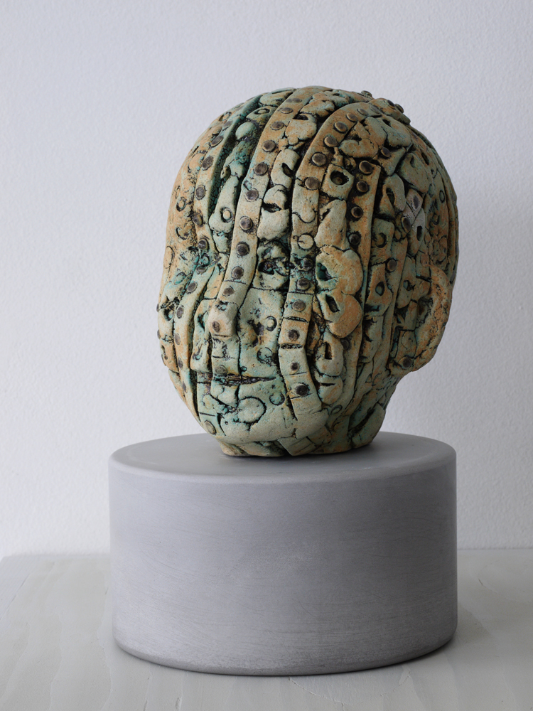 Artist Susan Low-Beer sculptures at Sivarulrasa Gallery in Almonte, Ontario