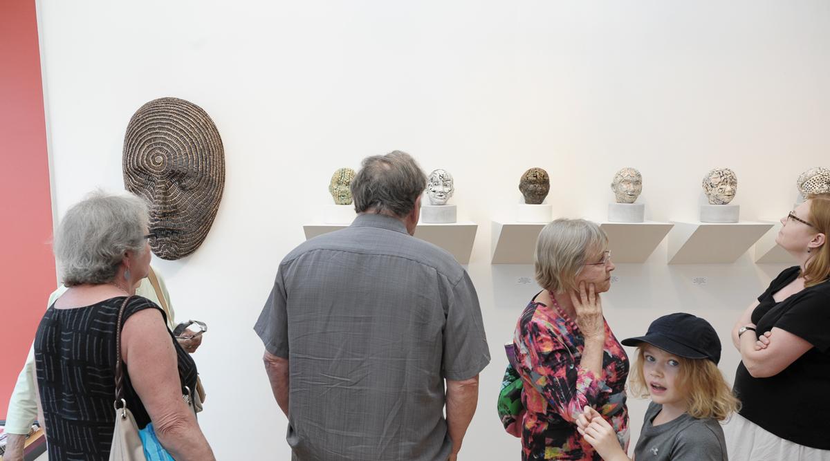 ECLIPSE, vernissage at Sivarulrasa Gallery. Featured artists: Deborah Arnold, Dale Dunning, Susan Low-Beer, Marina Malvada, Sanjeev Sivarulrasa.
