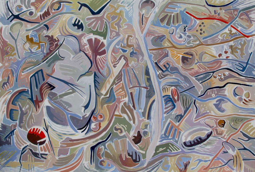 Artist Susan Tooke paintings at Sivarulrasa Gallery in Almonte, Ontario