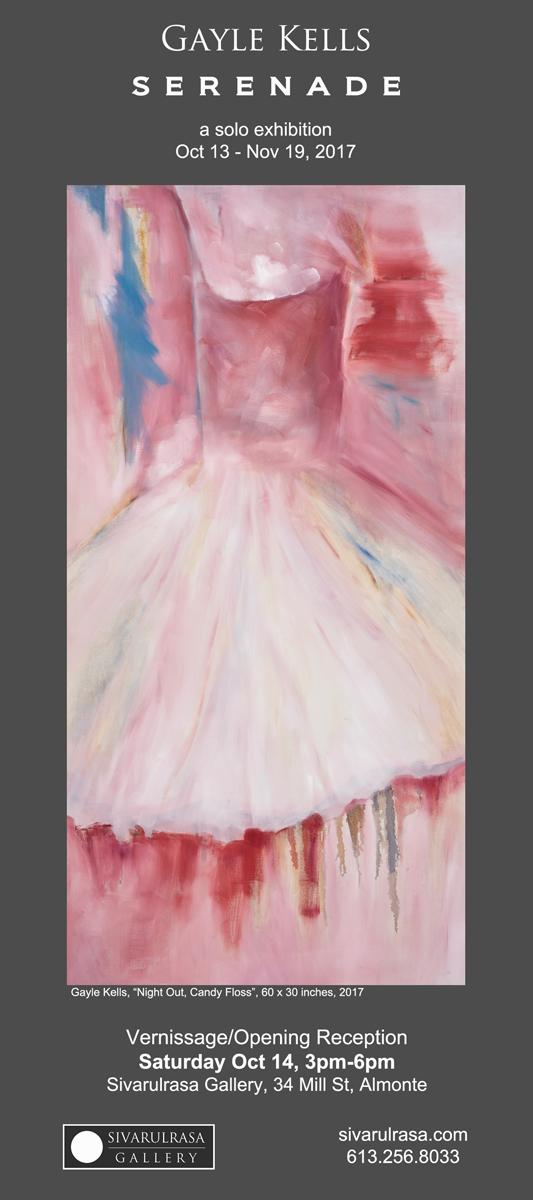 """Gayle Kells, solo exhibition """"Serenade"""" at Sivarulrasa Gallery"""