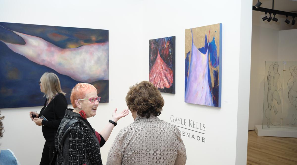 Gayle Kells, Serenade, a solo exhibition at Sivarulrasa Gallery