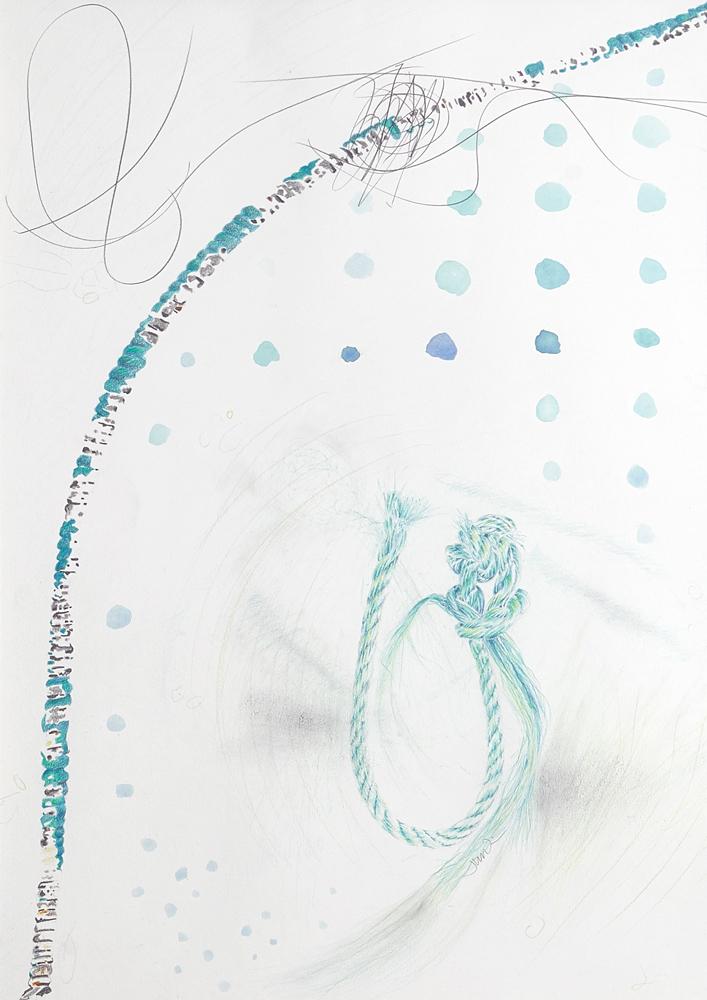Artist Jane Irwin drawings at Sivarulrasa Gallery in Almonte, Ontario