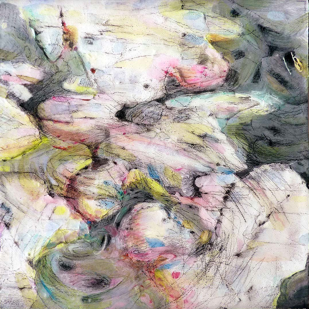 Artist Jane Irwin paintings at Sivarulrasa Gallery in Almonte, Ontario