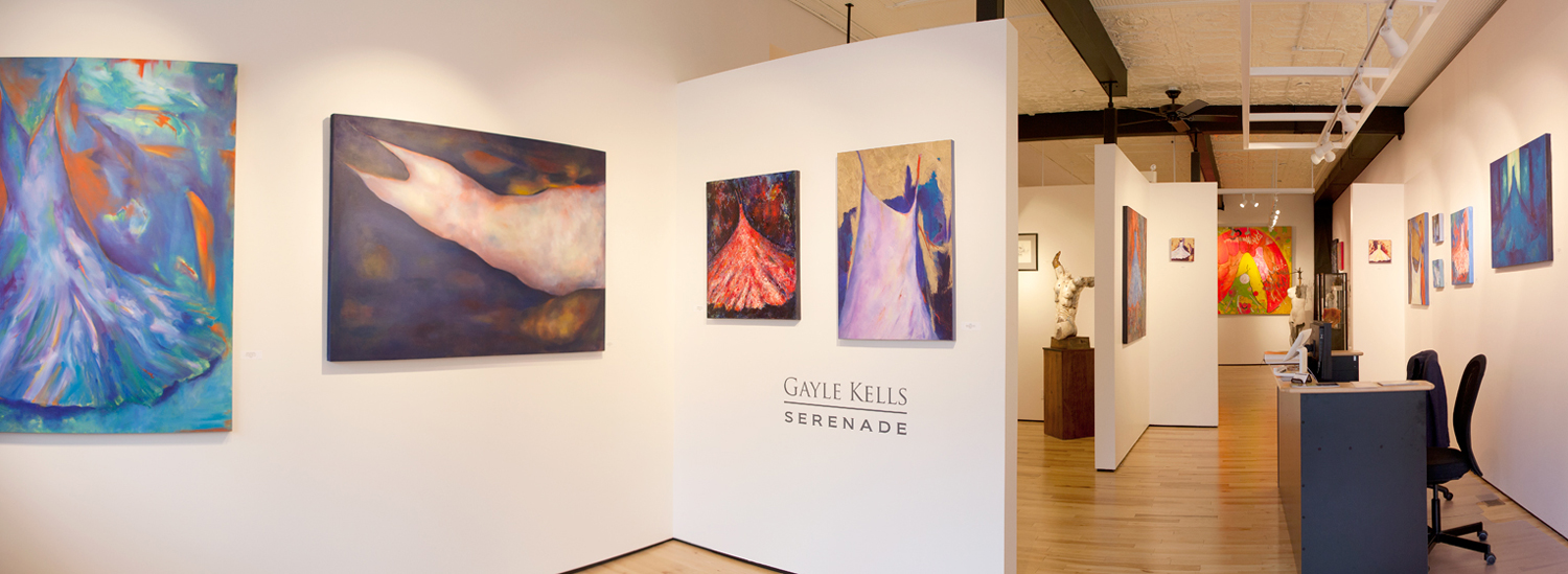 Gayle Kells paintings and assemblages at Sivarulrasa Gallery