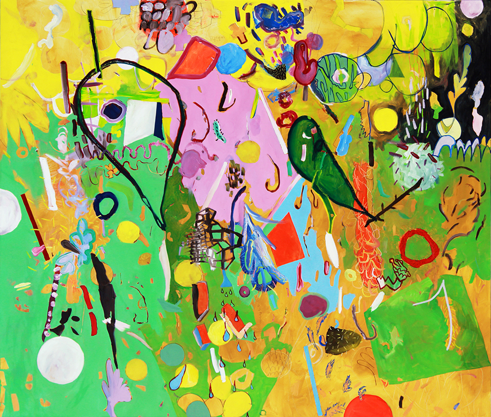 CARNIVAL,  72 x 84 inches