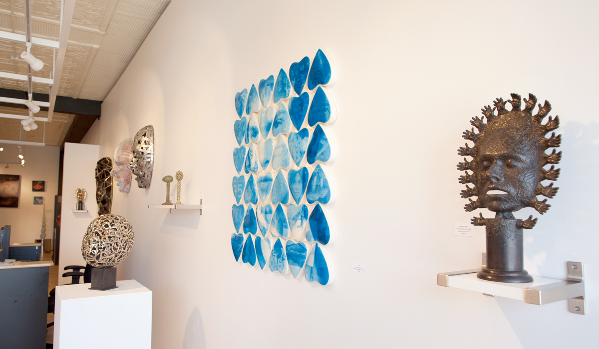 Dale Dunning and Jim Hake Sculpture at Sivarulrasa Gallery