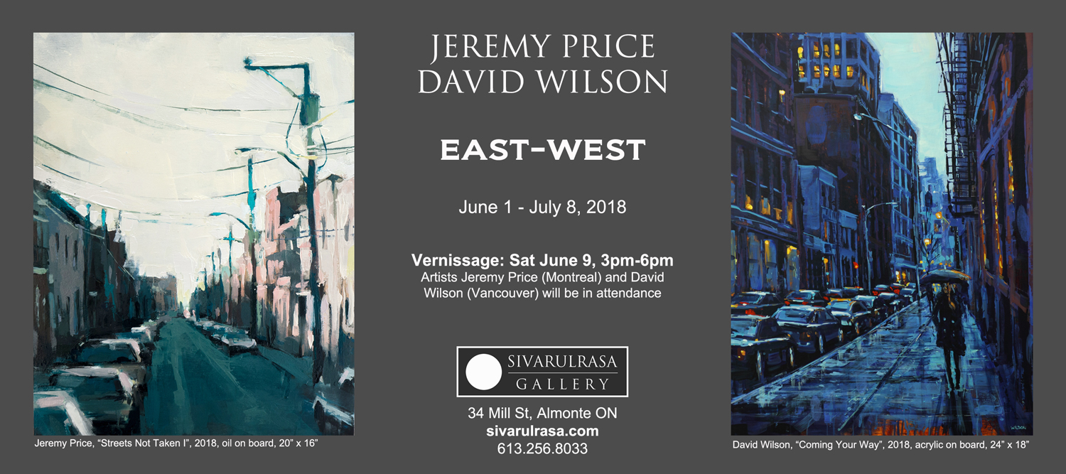 Jeremy Price and David Wilson at Sivarulrasa Gallery