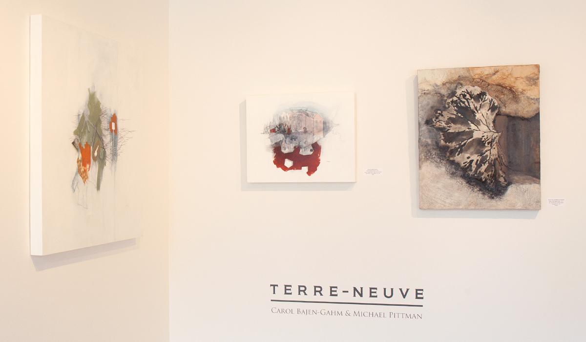 Carol Bajen-Gahm and Michael Pittman at Sivarulrasa Gallery