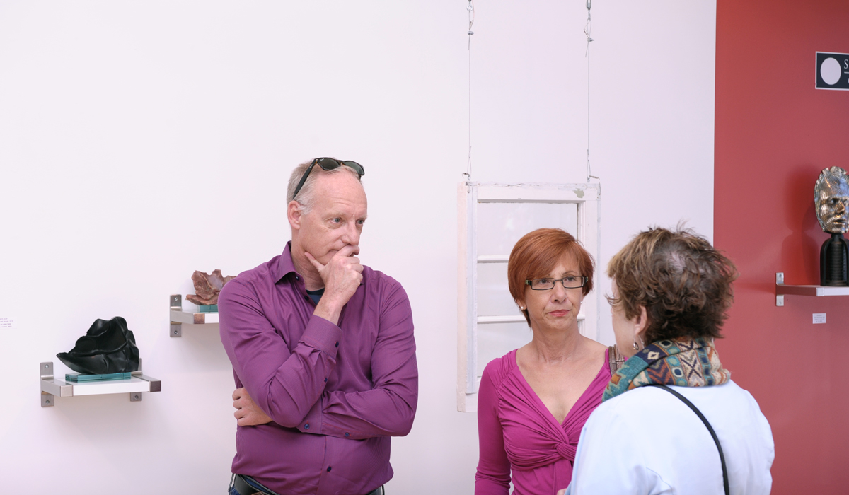 Vernissage for RESERVOIR, Deborah Arnold and Dipna Horra at Sivarulrasa Gallery
