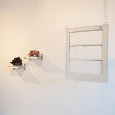 Deborah Arnold and Dipna Horra at Sivarulrasa Gallery