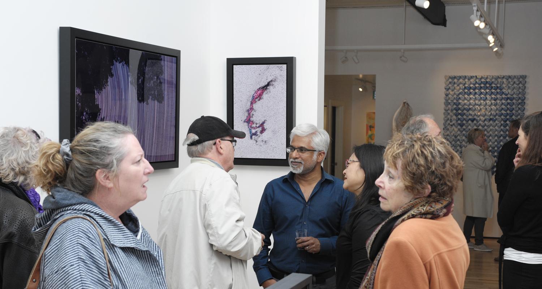 Vernissage for STARFIELDS, Sanjeev Sivarulrasa photographic works at Sivarulrasa Gallery