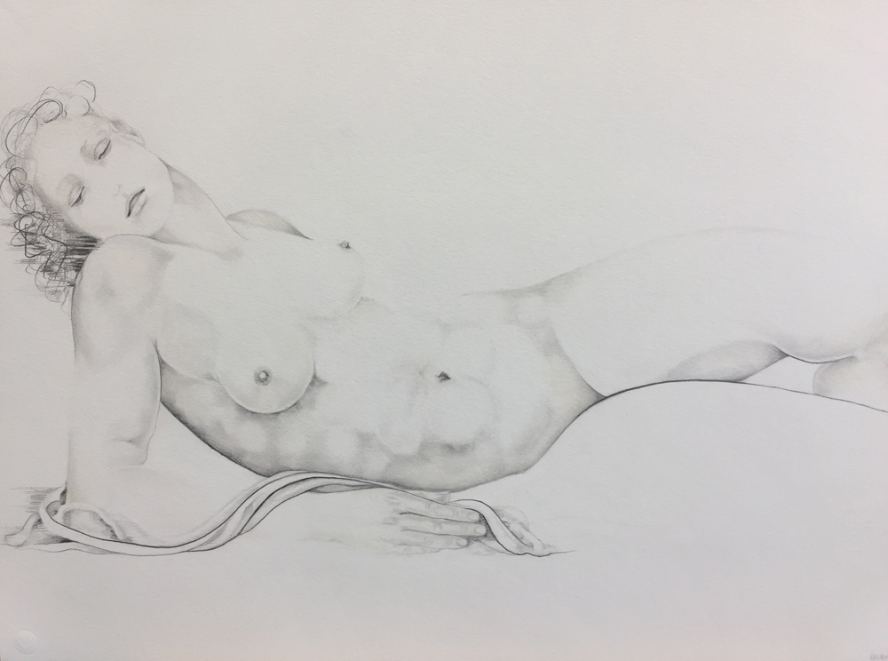 STUDY OF RECLINING FEMALE, Sue Adams