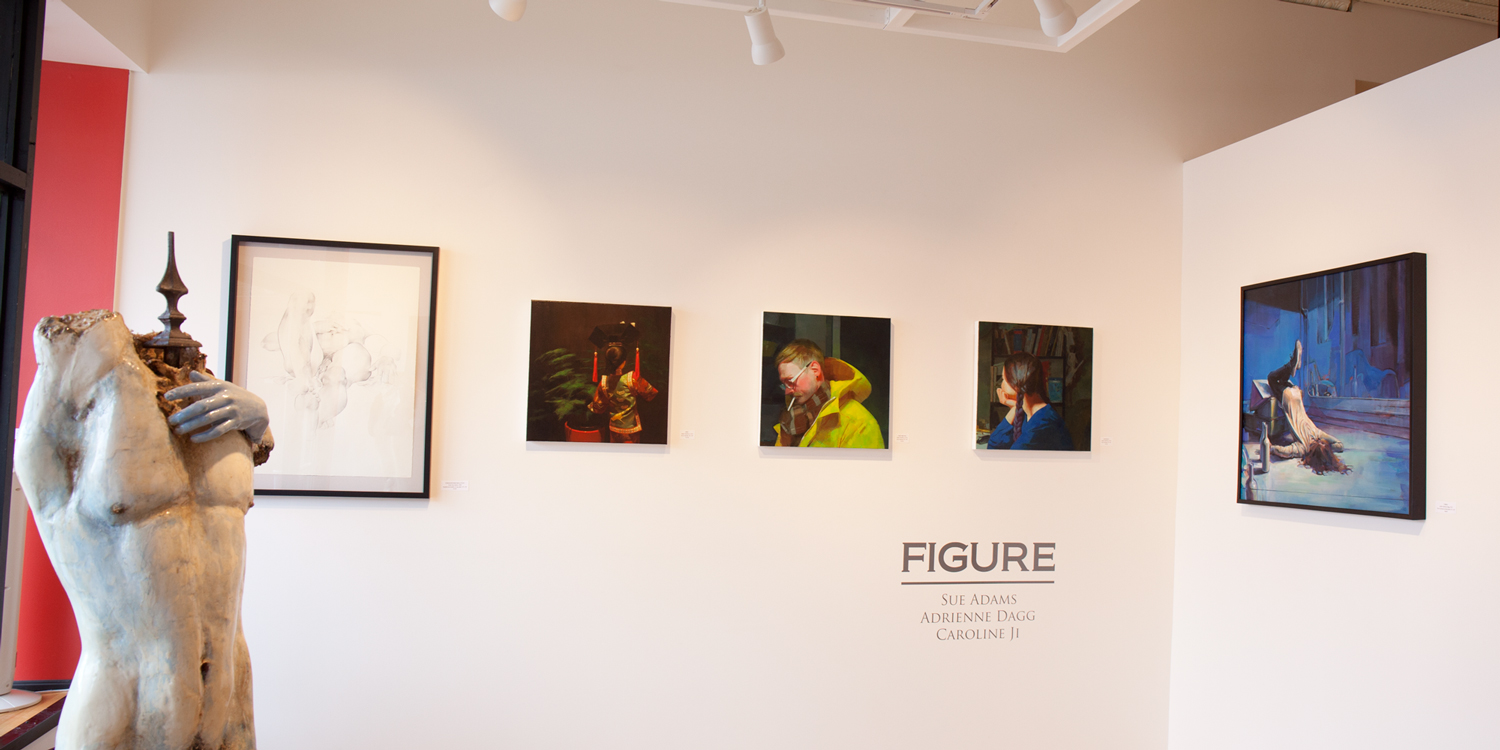 FIGURE at Sivarulrasa Gallery - Adrienne Dagg, Caroline Ji, Sue Adams