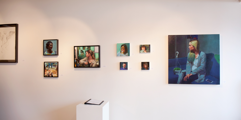FIGURE at Sivarulrasa Gallery - Adrienne Dagg, Caroline Ji, Sue Adams