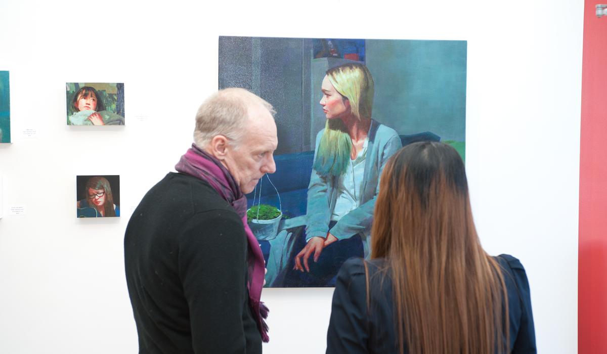 Caroline Ji, Adrienne Dagg, Sue Adams at Sivarulrasa Gallery