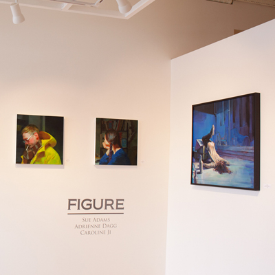 Adrienne Dagg, Caroline Ji, Sue Adams at Sivarulrasa Gallery