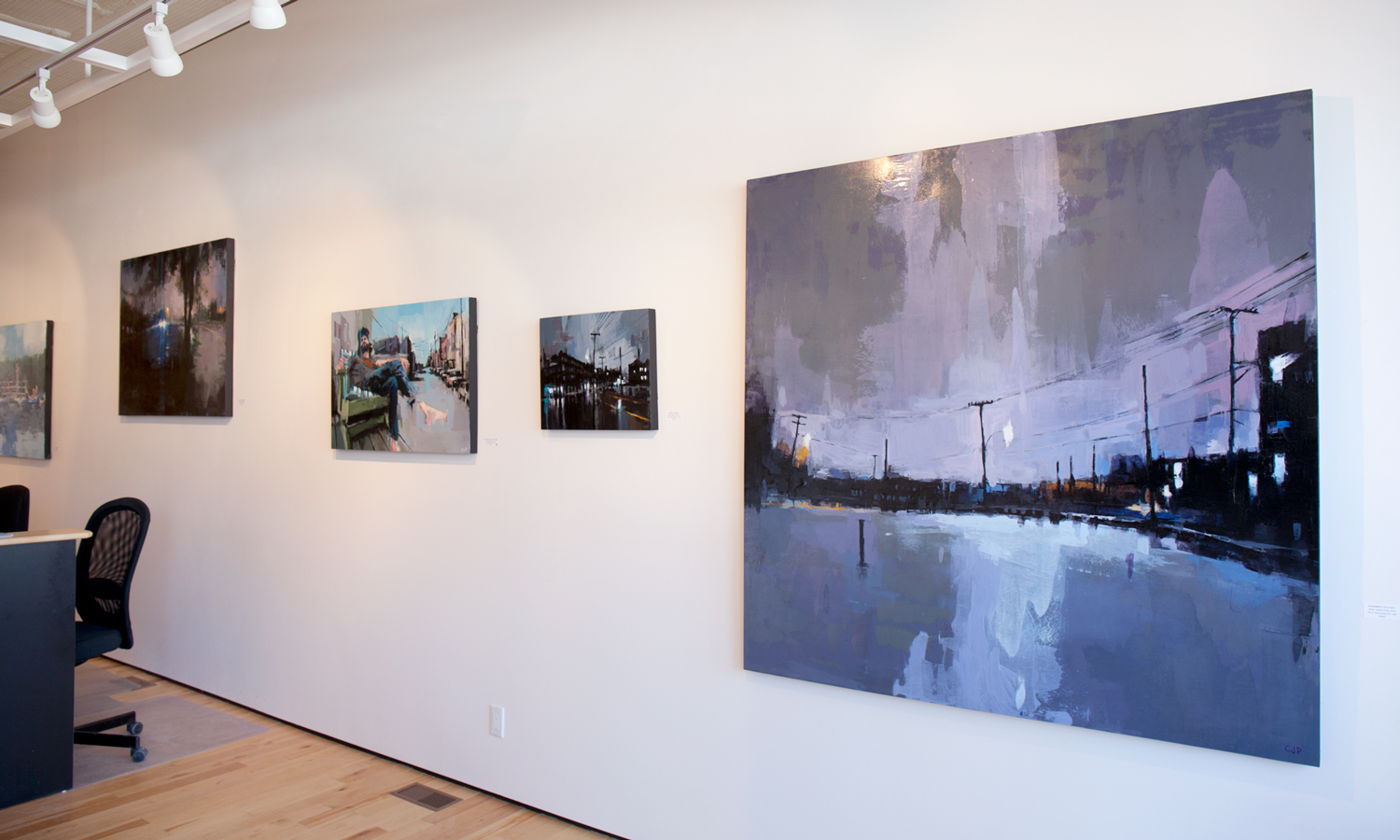 Jeremy Price paintings at Sivarulrasa Gallery