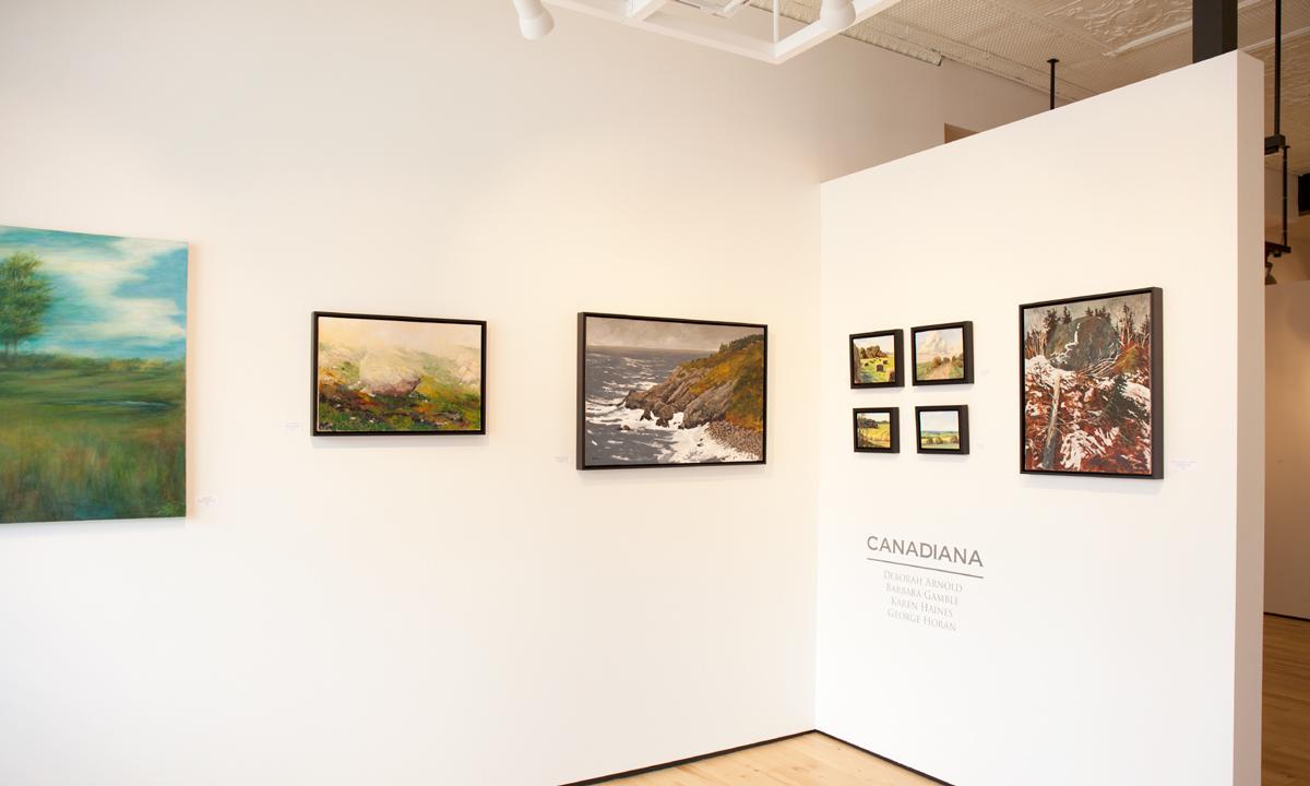 Canadiana at Sivarulrasa Gallery: Deborah Arnold, Barbara Gamble, George Horan, Karen Haines