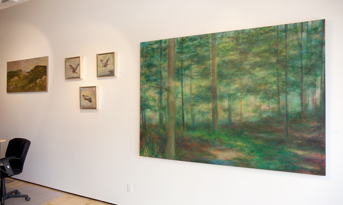 Canadiana at Sivarulrasa Gallery: Deborah Arnold, Barbara Gamble, George Horan, Karen Haines