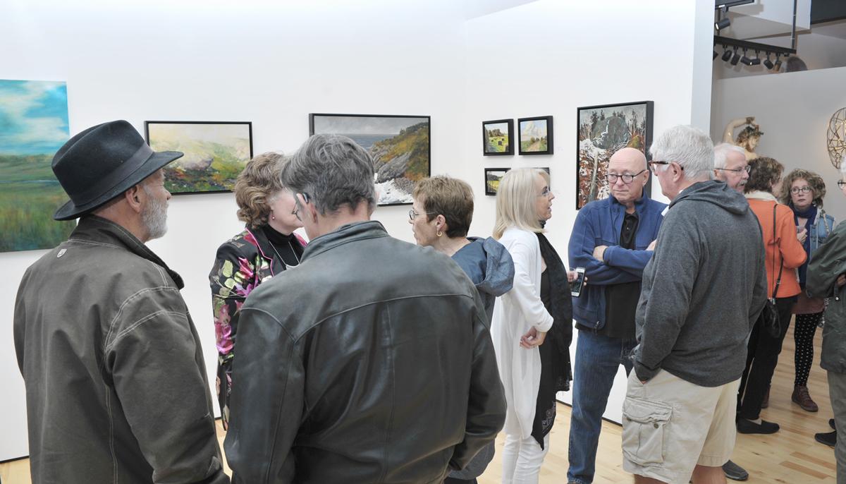 Canadiana vernissage at Sivarulrasa Gallery, Almonte, Ontario