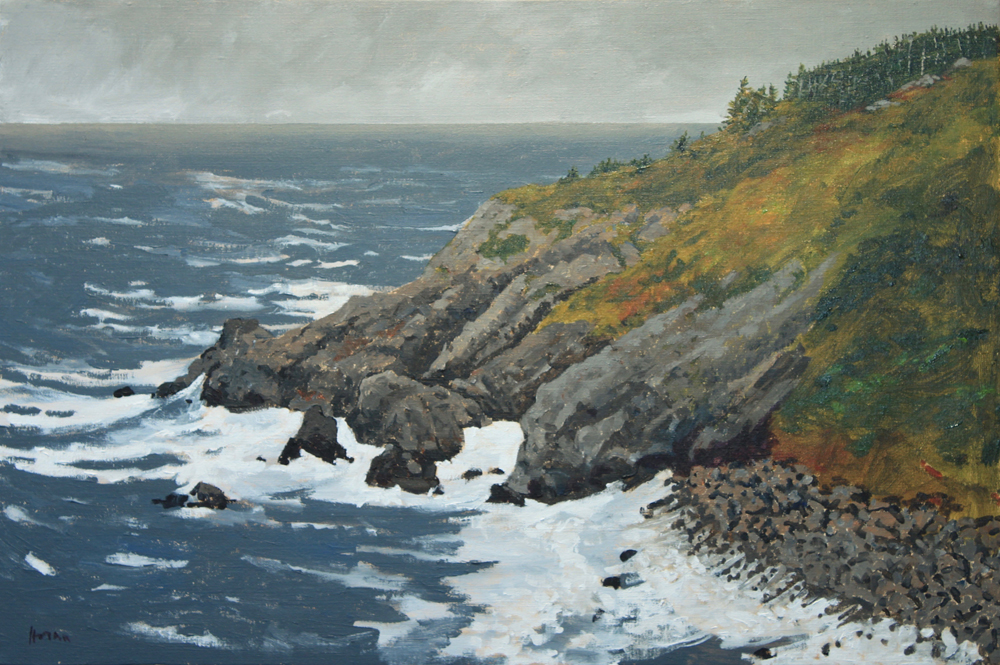 Artist George Horan paintings at Sivarulrasa Gallery in Almonte, Ontario
