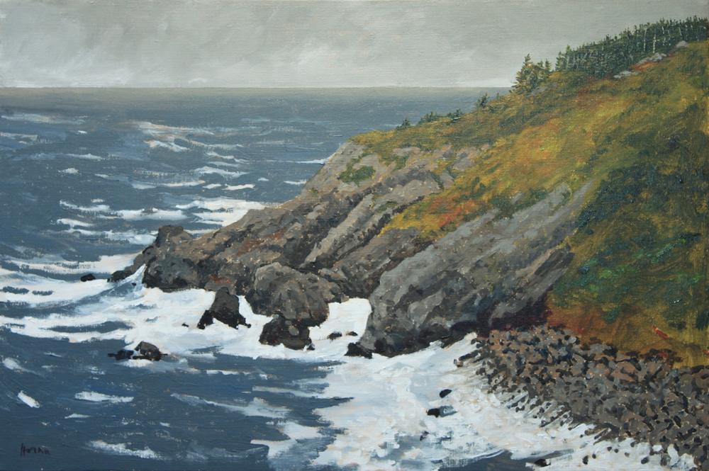 Artist George Horan paintings at Sivarulrasa Gallery in Almonte, Ontario