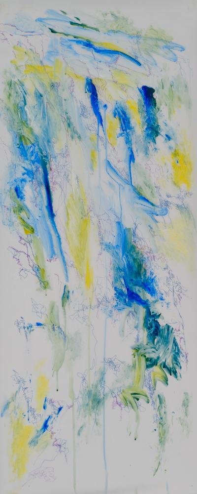 Gayle Kells drawings at Sivarulrasa Gallery