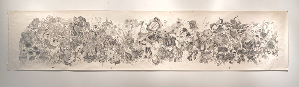 Gayle Kells drawings at Sivarulrasa Gallery