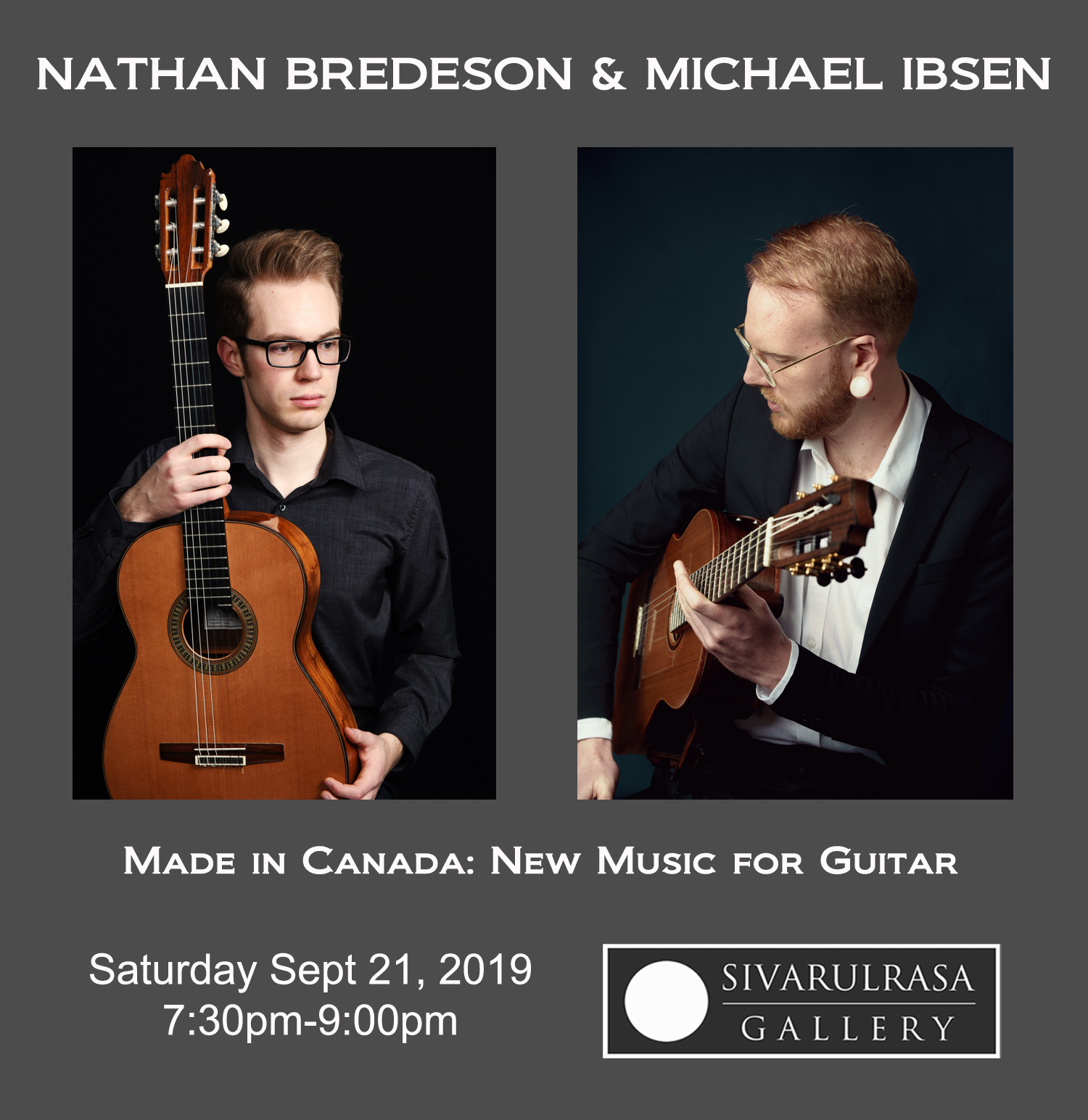 Nathan Bredesen and Michael Ibsen at Culture22, Sivarulrasa Gallery