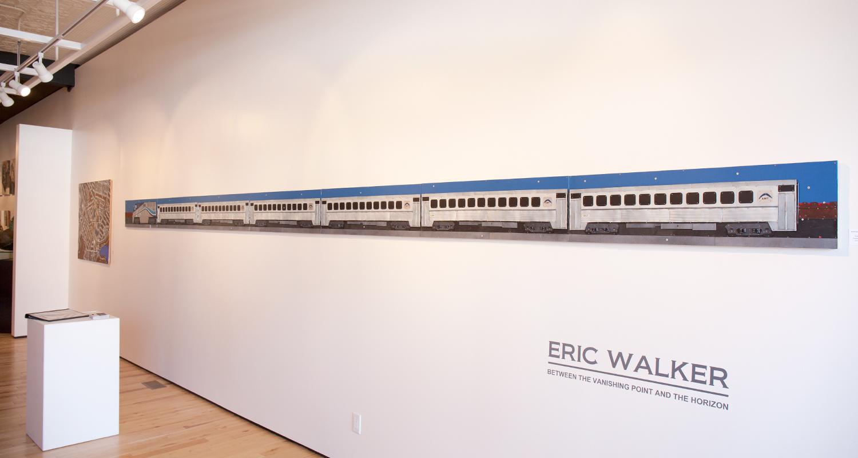 Eric Walker, Installation View at Sivarulrasa Gallery