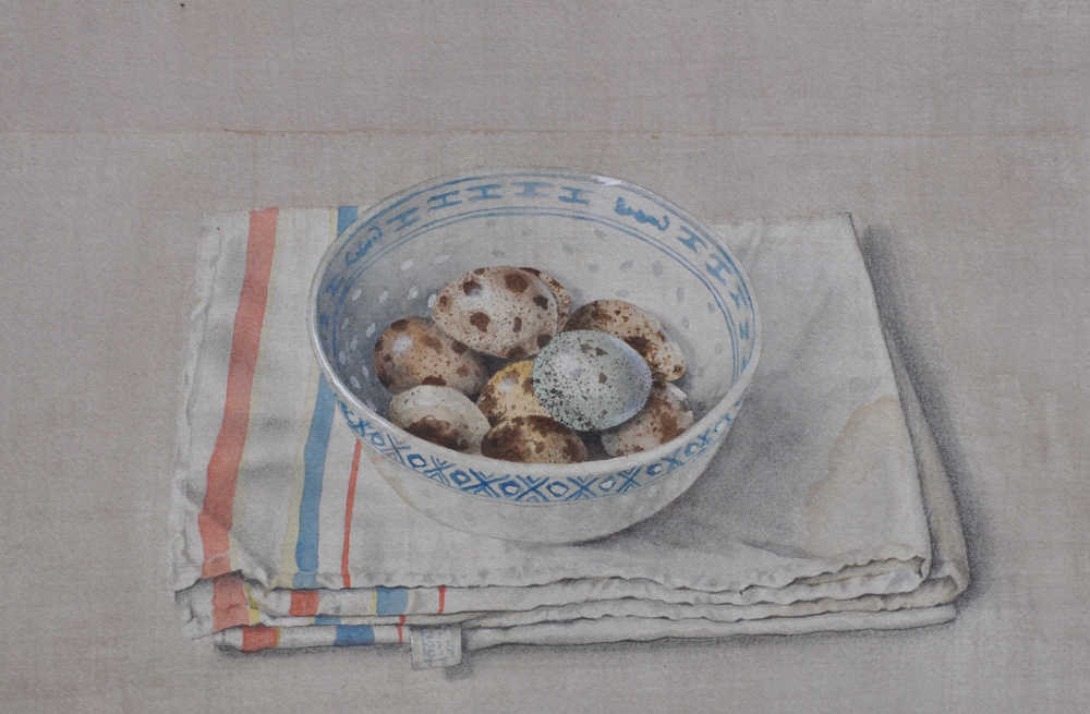 Watercolour works by Cathy Ross at Sivarulrasa Gallery