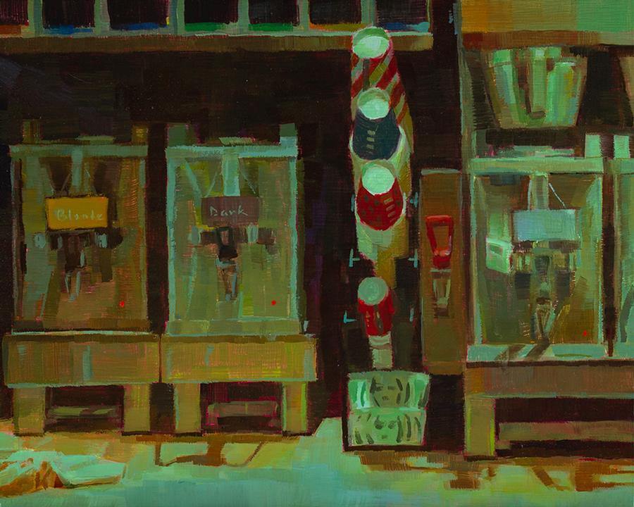 Caroline Ji paintings at Sivarulrasa Gallery