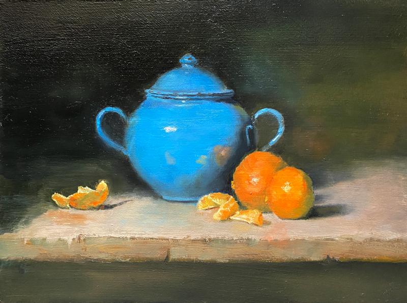 Paintings by Karen Haines at Sivarulrasa Gallery