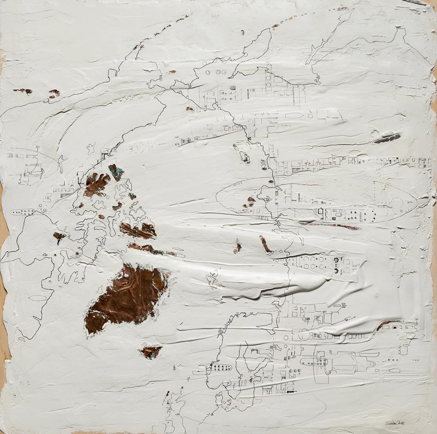 Works by Elaine Carr at Sivarulrasa Gallery