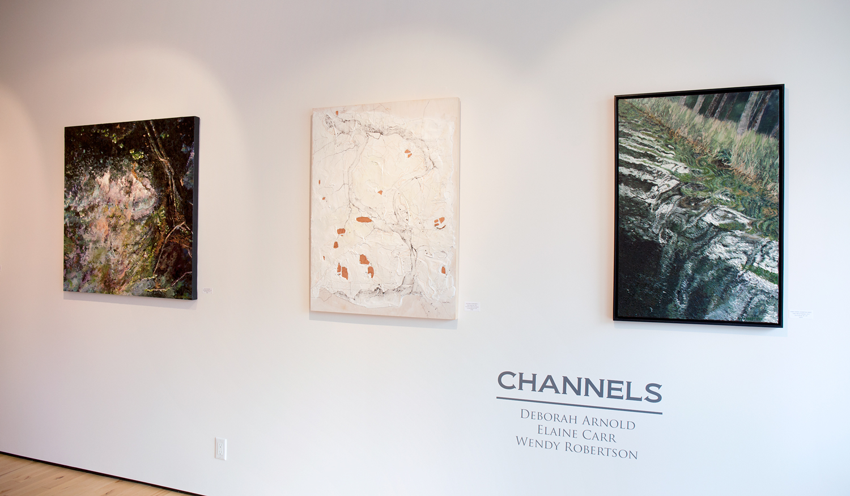 Channels_Deborah-Arnold_Elaine-Carr_Wendy-Robertson_Sivarulrasa-Gallery_Installation-Views1