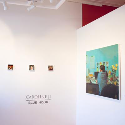 Caroline Ji at Sivarulrasa Gallery