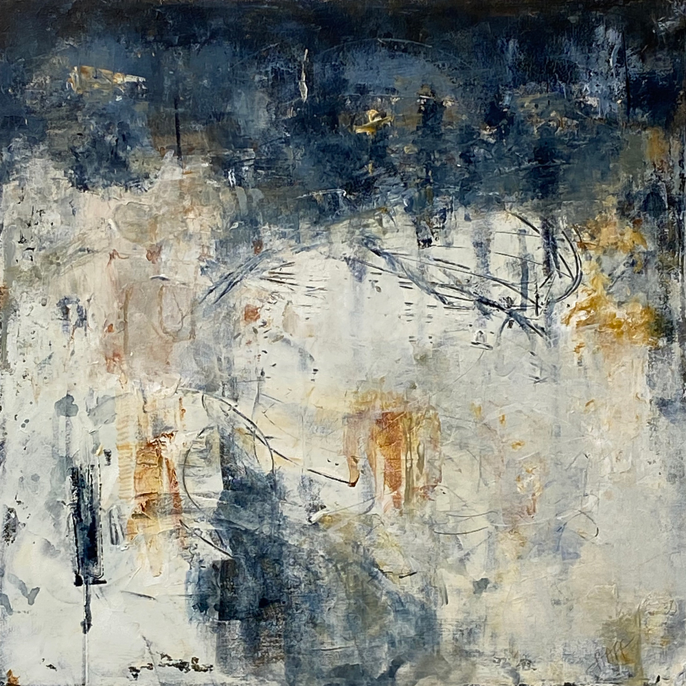 Paintings by Mary Pfaff available at Sivarulrasa Gallery