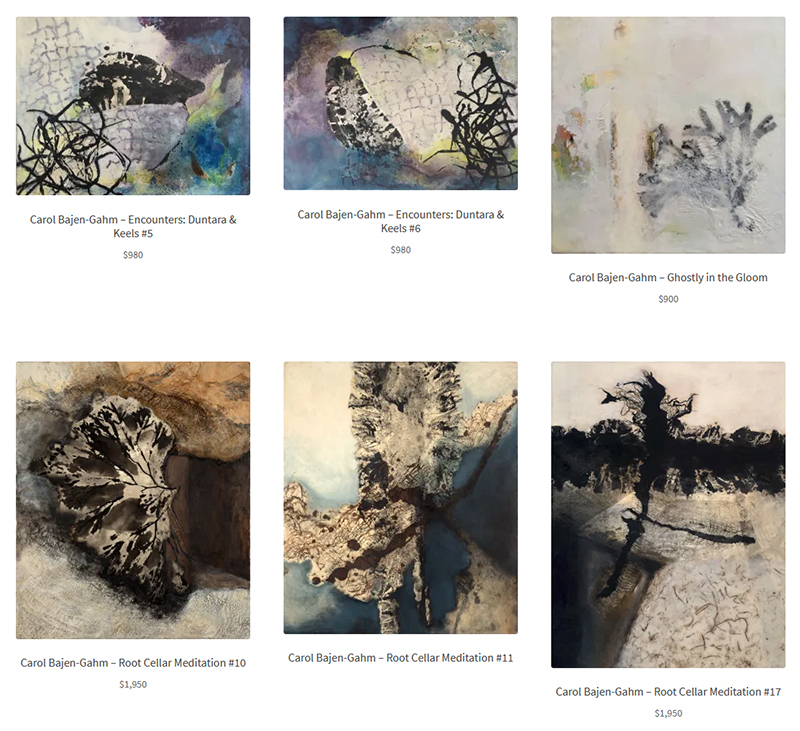 Carol Bajen-Gahm at Sivarulrasa Virtual Gallery