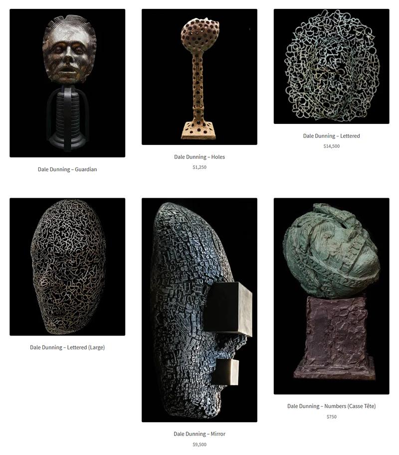 Dale Dunning at Sivarulrasa Virtual Gallery