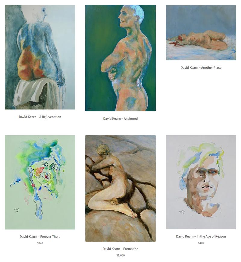 David Kearn at Sivarulrasa Virtual Gallery