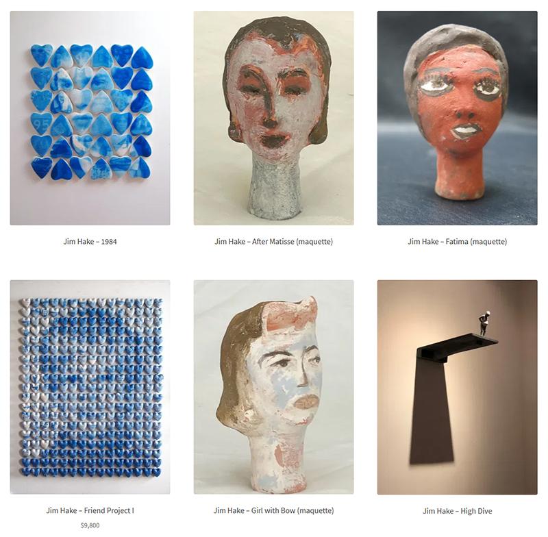 Jim Hake at Sivarulrasa Virtual Gallery