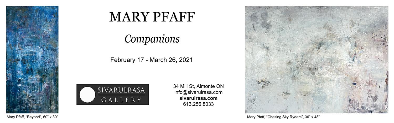 Mary Pfaff at Sivarulrasa Gallery