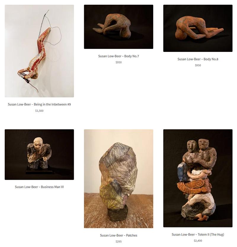 Susan Low-Beer at Sivarulrasa Virtual Gallery