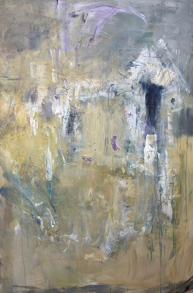 Paintings by Mary Pfaff at Sivarulrasa Gallery