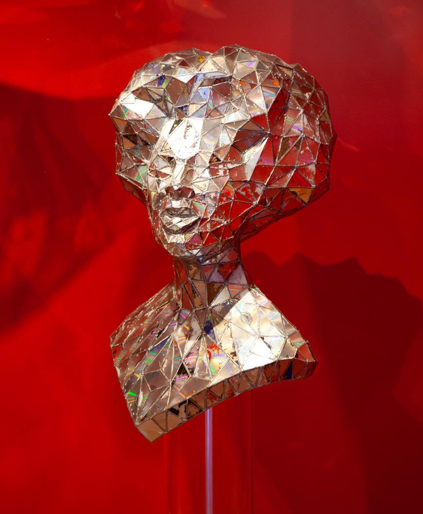 Sculpture by Jim Hake at Sivarulrasa Gallery