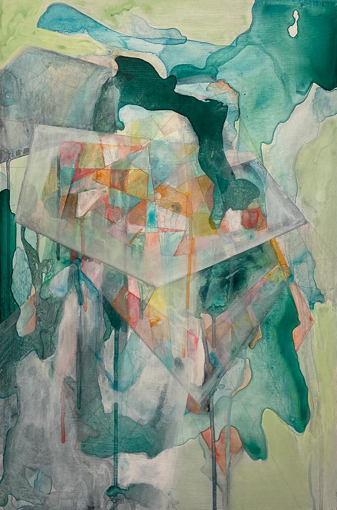 Paintings by Sarah Anderson at Sivarulrasa Gallery